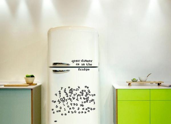 Litere de frigider 4