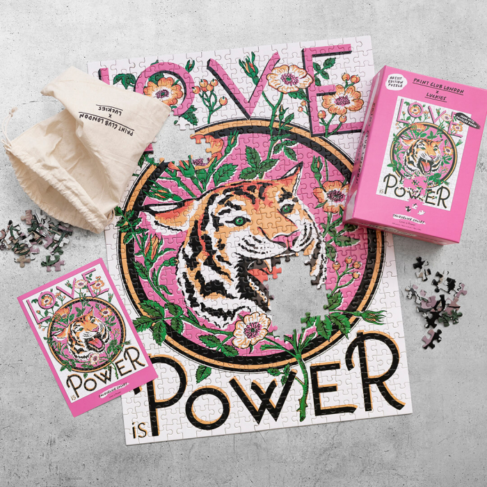 Love is Power, Puzzle Editie Artistica, 500 piese 1