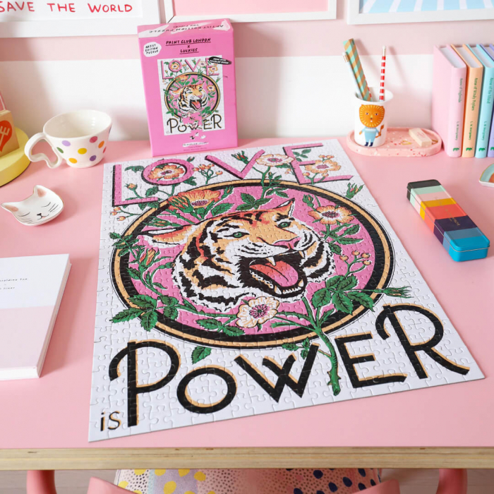 Love is Power, Puzzle Editie Artistica, 500 piese 0