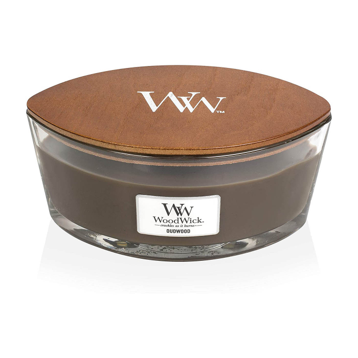 LUMANARE PARFUMATA WOODWICK ELLIPSE OUDWOOD 2