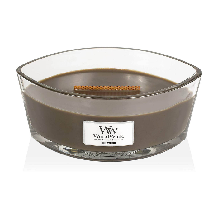 LUMANARE PARFUMATA WOODWICK ELLIPSE OUDWOOD 1