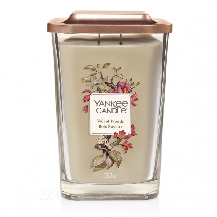 LUMANARE PARFUMATA YANKEE VELVET WOODS CANDLE ELEVATION COLLECTION 3