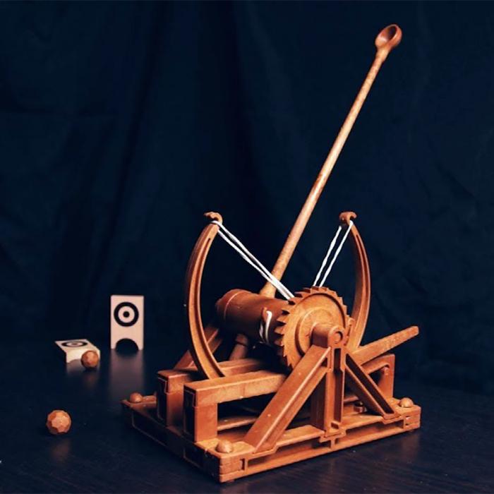 Macheta Catapulta DIY Colectia DaVinci 0