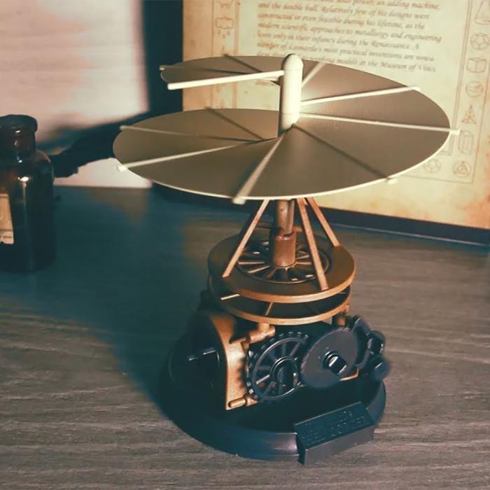 Macheta Elicopter DIY Colectia DaVinci 0