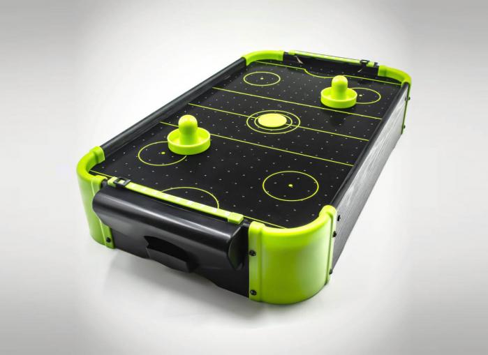 Masa air hockey cu elemente neon 0