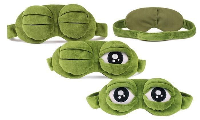 Masca de dormit Broscuta curioasa 10