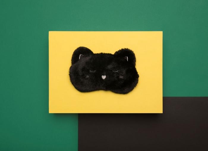 Masca de dormit Pisicuta Pufoasa 1