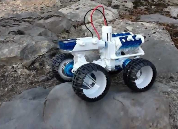 Masina 4x4 cu Motor cu apa sarata 7