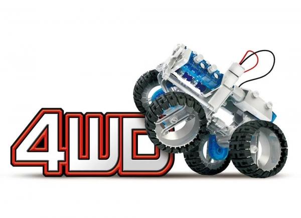 Masina 4x4 cu Motor cu apa sarata 11