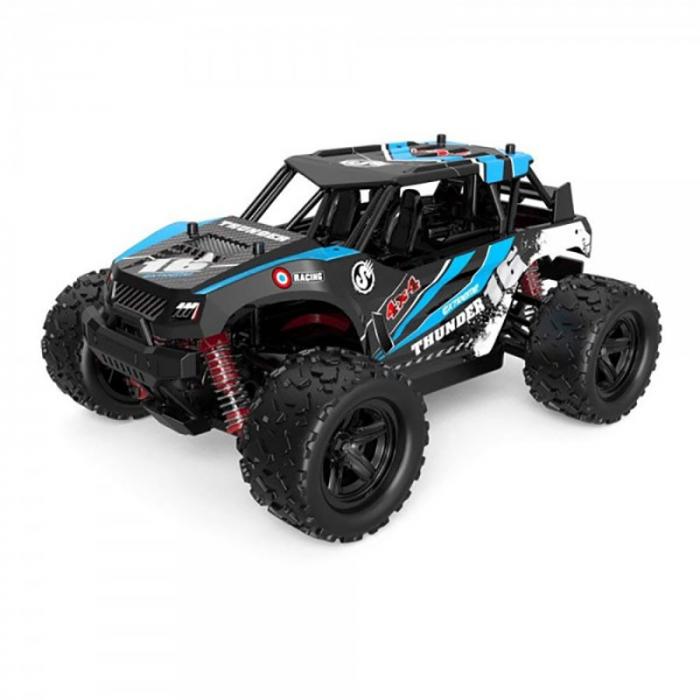 Masina cu Telecomanda Linxtech Thunder 4X4, 36Km/h, Albastru 2