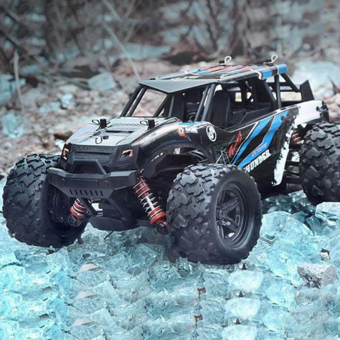 Masina cu Telecomanda Linxtech Thunder 4X4, 36Km/h, Albastru 0