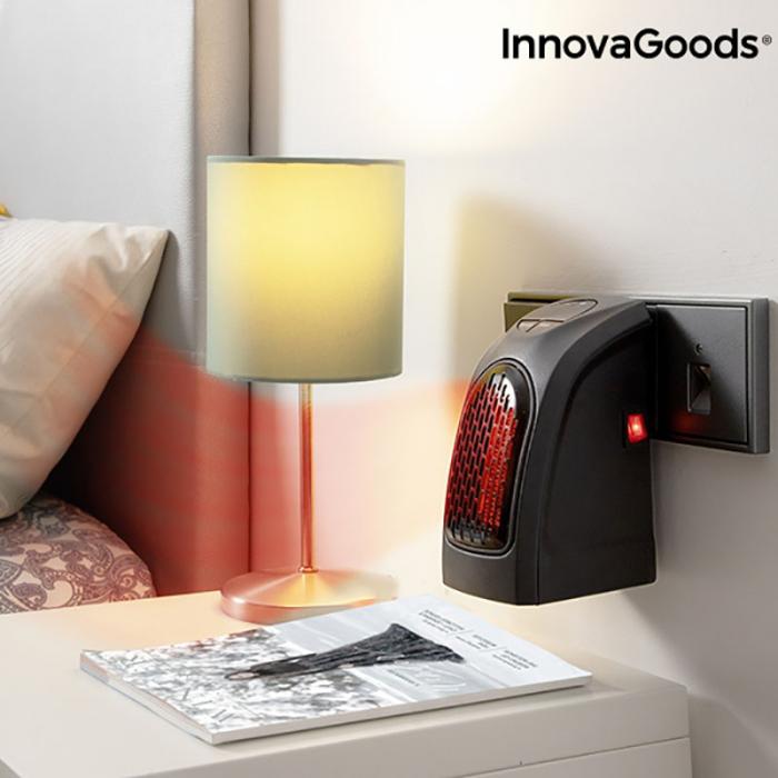 Mini radiator ceramic de priza cu termostrat reglabil 4
