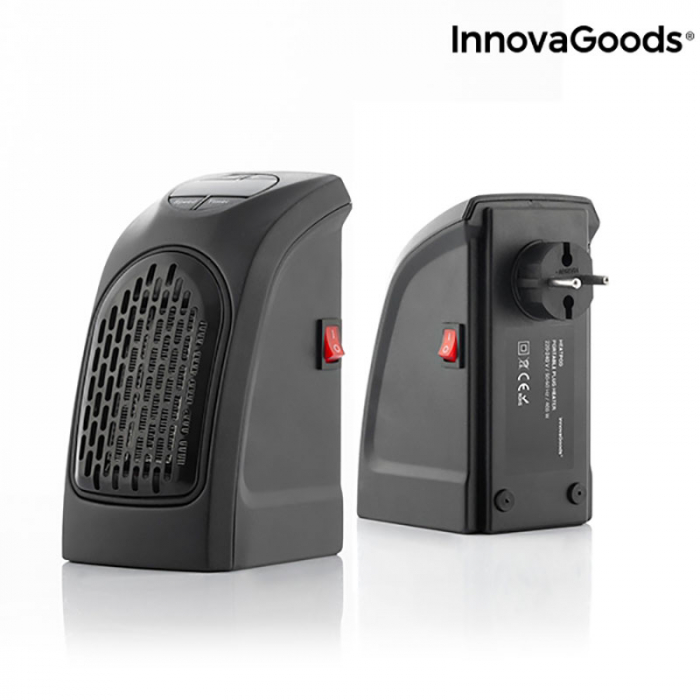 Mini radiator ceramic de priza cu termostrat reglabil 6