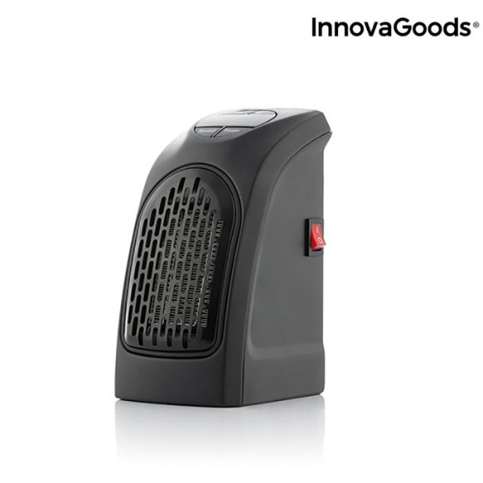 Mini radiator ceramic de priza cu termostrat reglabil 7