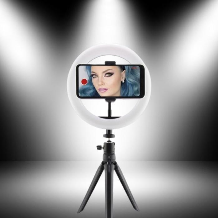 Mini trepied portabil Studio Live, cu iluminare LED [0]