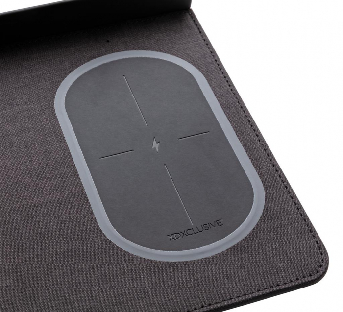Mousepad cu incarcare wireless 5W si USB 7