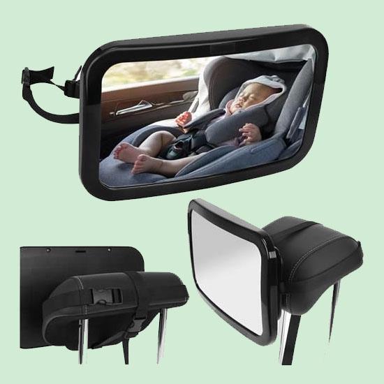 Oglinda auto bebelusi pentru supraveghere scaun spate 0