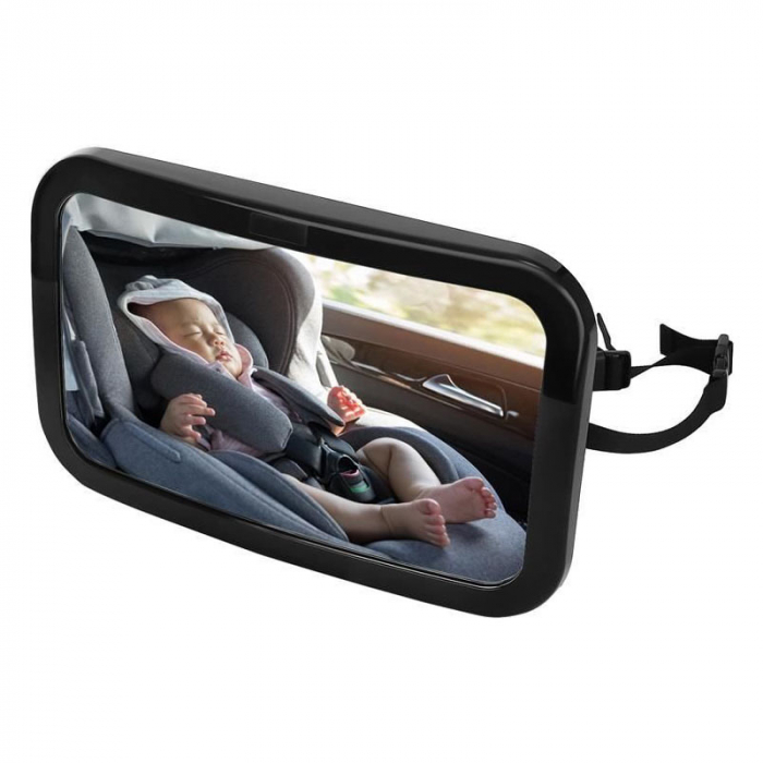 Oglinda auto bebelusi pentru supraveghere scaun spate 1