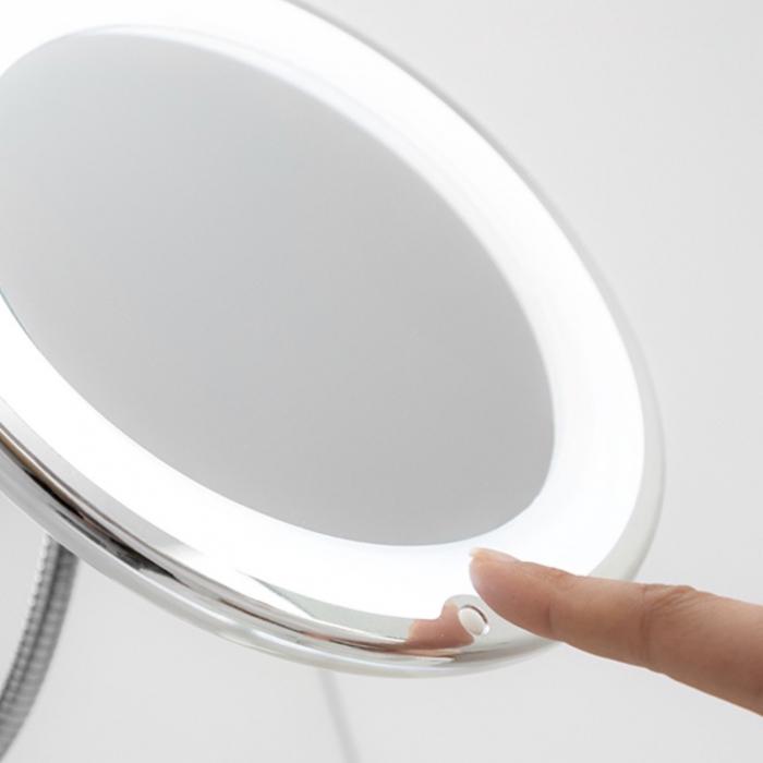 Oglinda machiaj cu becuri led, maleabila [3]