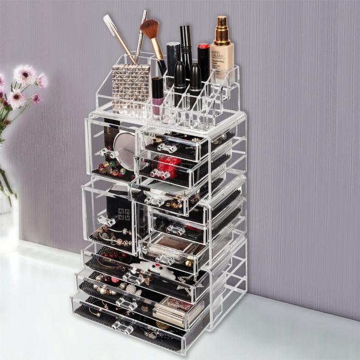 Organizator cosmetice machiaj XL Harmony 0