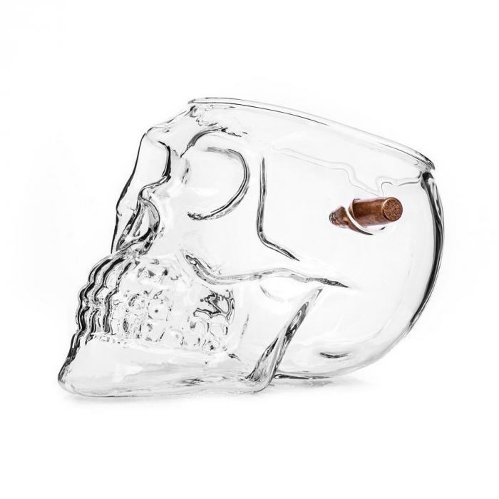 Pahar craniu cu glont 3