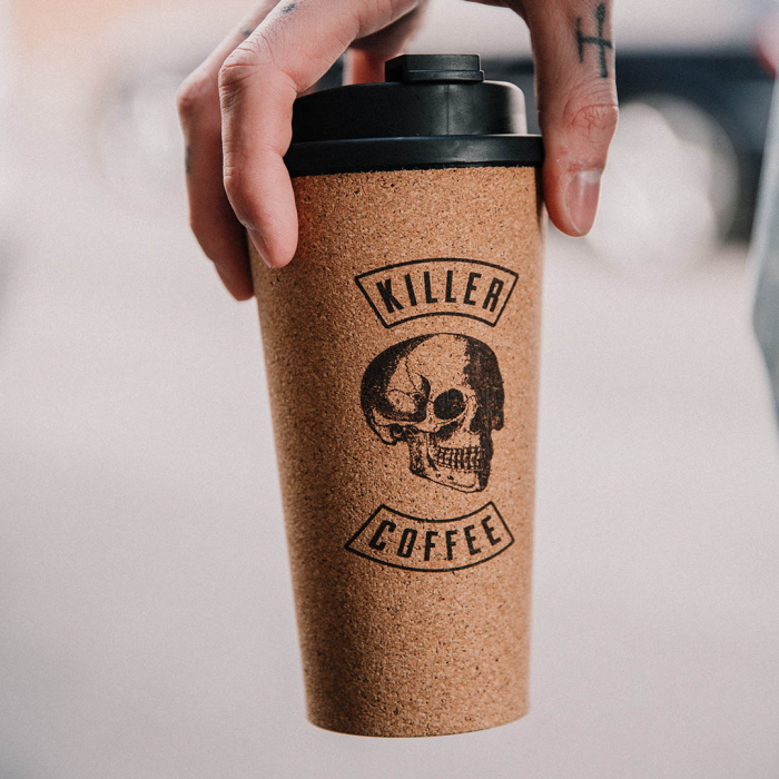 Pahar de pluta Killer Coffee 2