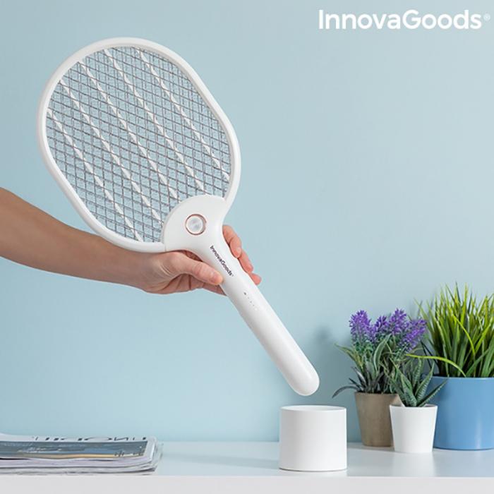 Paleta electrica anti insecte, Rackill LED 8