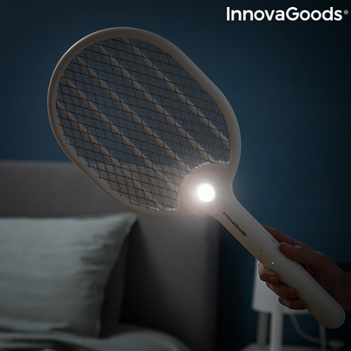 Paleta electrica anti insecte, Rackill LED 2