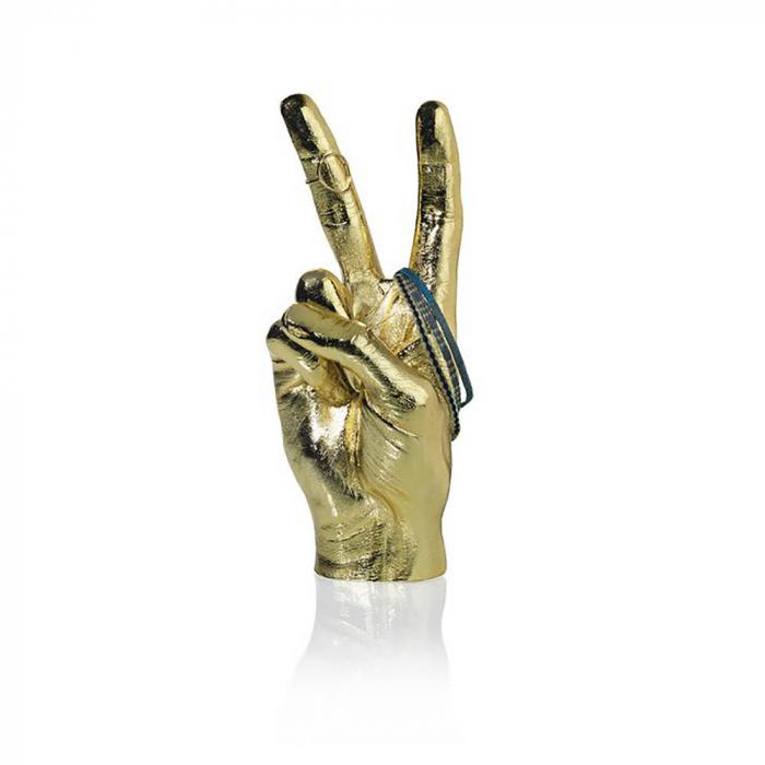 Peace, suport si obiect decorativ victorios, Gold 1