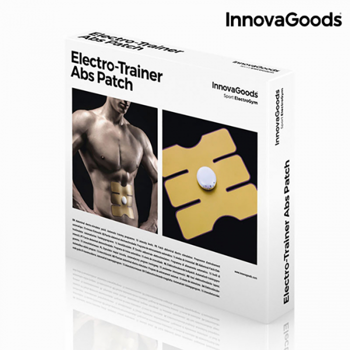 Plasture abdomen cu electrostimulare, program automat 23 minute [7]