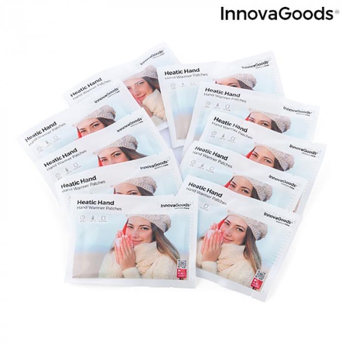 Plasturi termici pentru incalzirea mainilor, Heatic Hand, 10 bucati 6