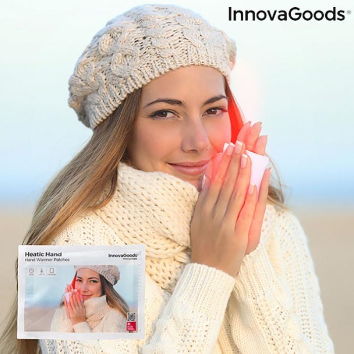 Plasturi termici pentru incalzirea mainilor, Heatic Hand, 10 bucati 0