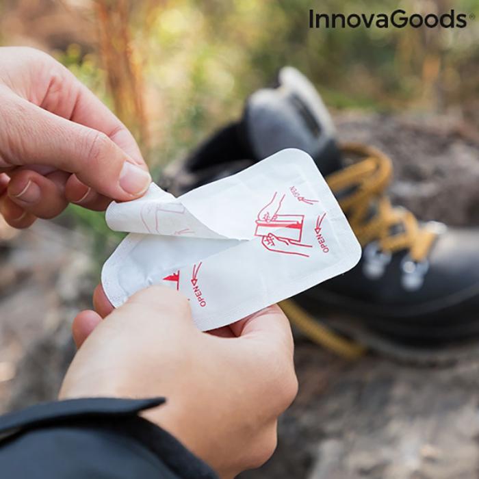 Plasturi termici pentru incalzirea picioarelor, Heatic Toe, 10 bucati 4