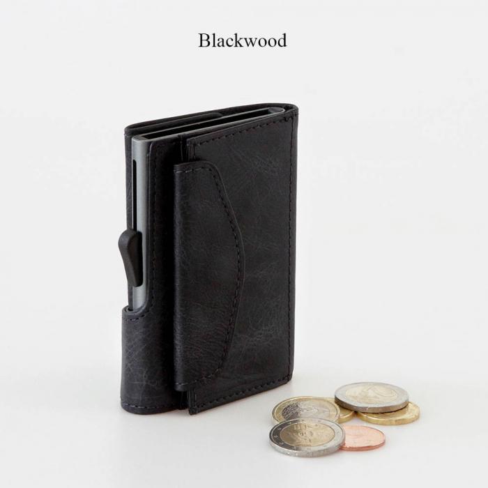 Portofel Carduri RFID din piele cu buzunar de monede 1