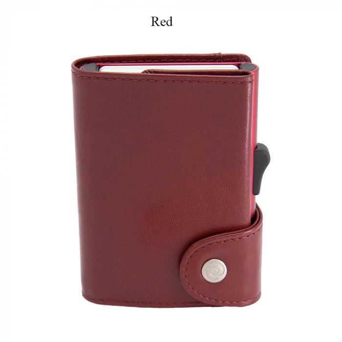 Portofel Carduri RFID XL din piele 0