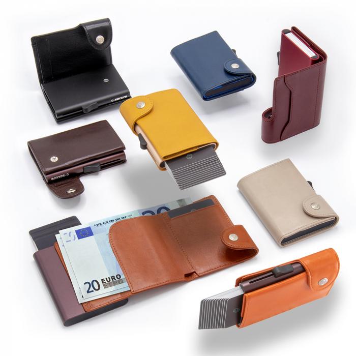 Portofel Carduri RFID XL din piele 1