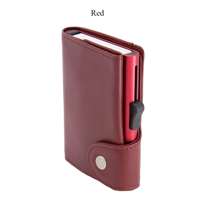 Portofel Carduri RFID XL din piele 2