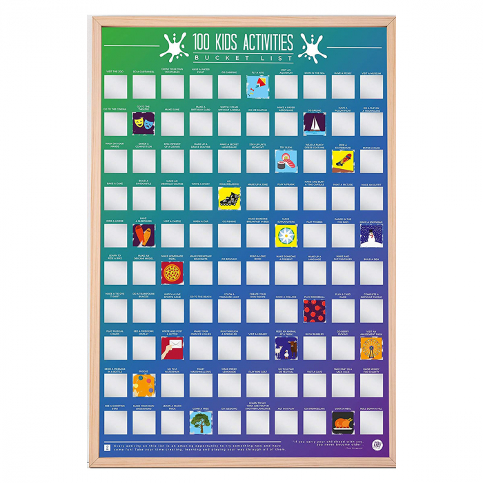 Poster razuibil 100 activitati pentru copii 3