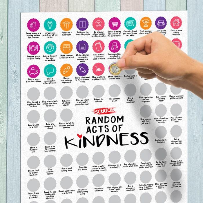 Poster razuibil 100 Fapte bune 0