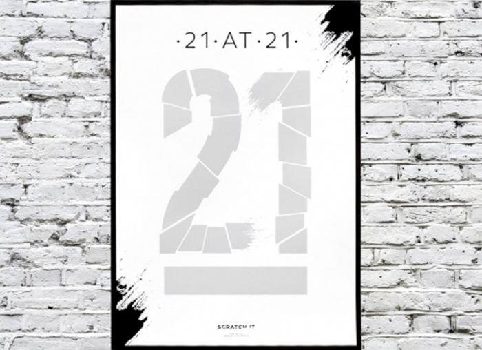 Poster razuibil 21 de ani 1