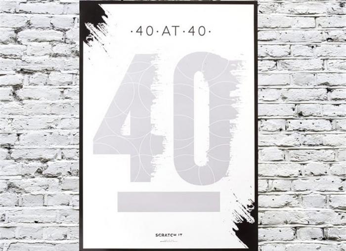 Poster razuibil 40 de ani 1