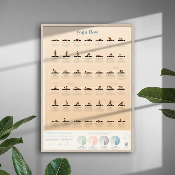 Poster Yoga Flow 0