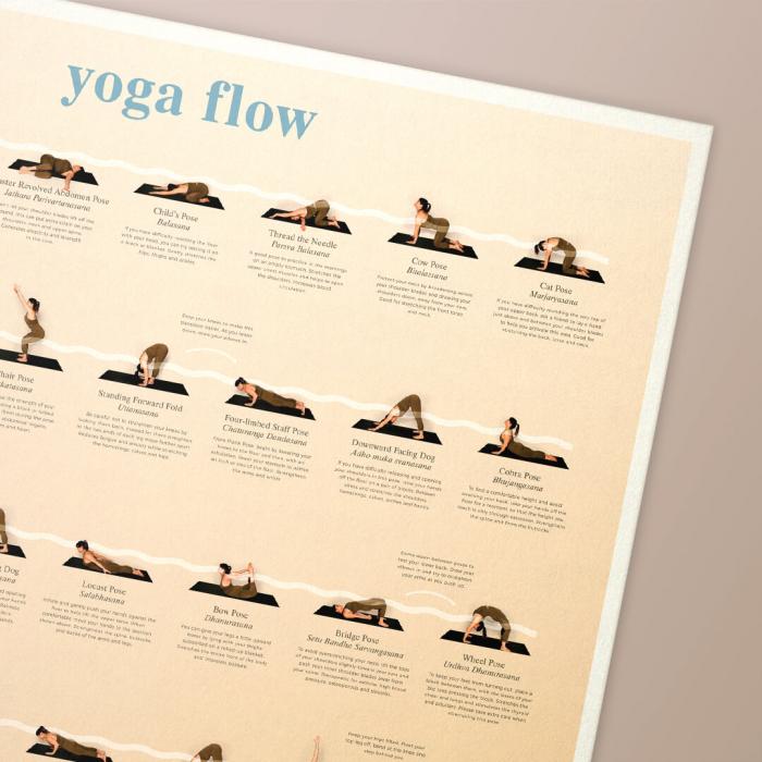 Poster Yoga Flow 1