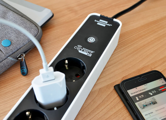Prelungitor smart, 3 prize, control vocal Alexa sau Google, WIFI, timer 2