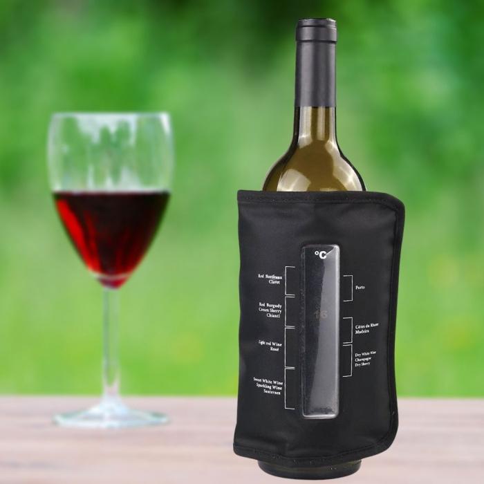 Punga Racitor sticle vin, cu termometru 0