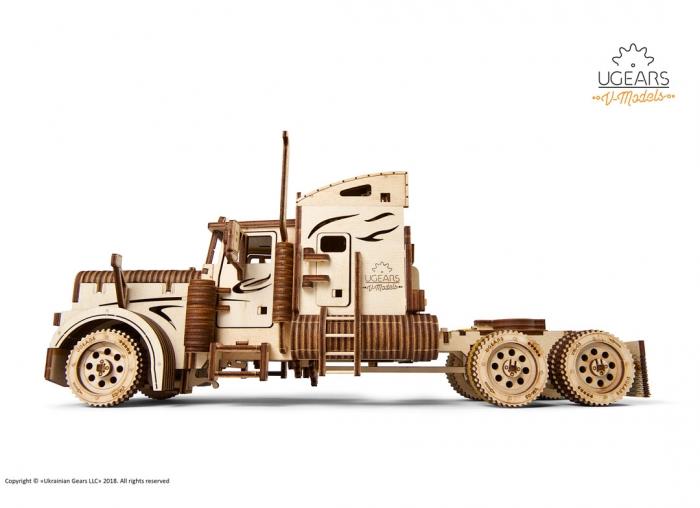 Puzzle 3D Camion VM-03 din lemn Ugears 9