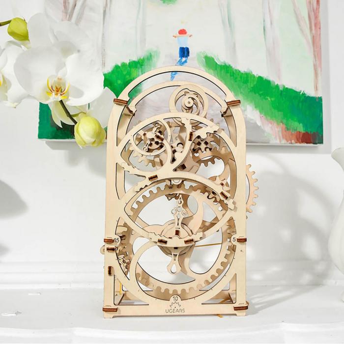 Puzzle 3D Cronometru Ugears 0