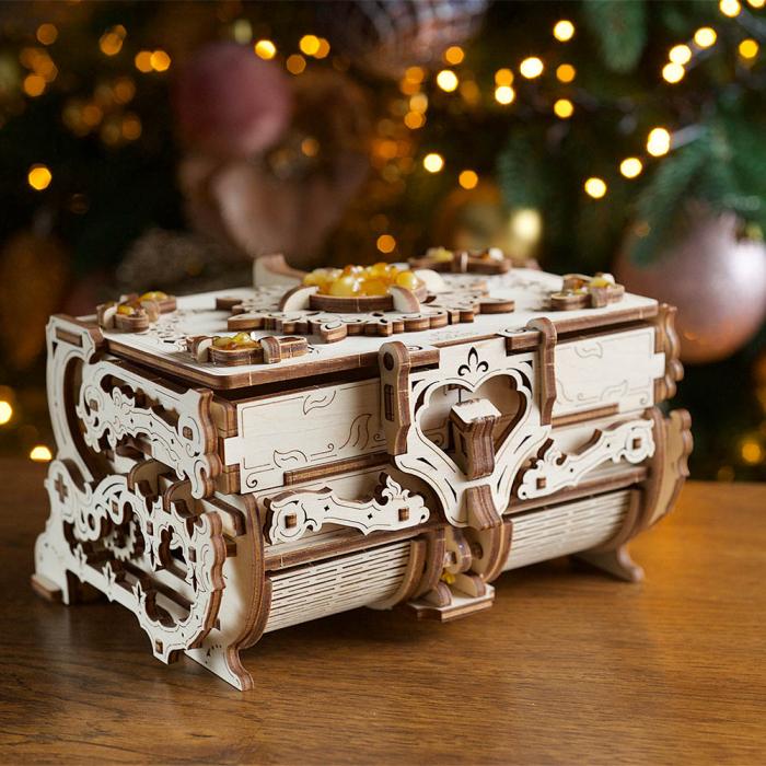 Puzzle 3D Cutie Antica de Chihlimbar Ugears 0