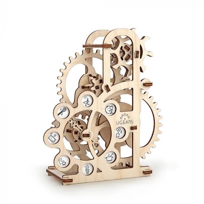 Puzzle 3D Dinamometru din Lemn Ugears 6
