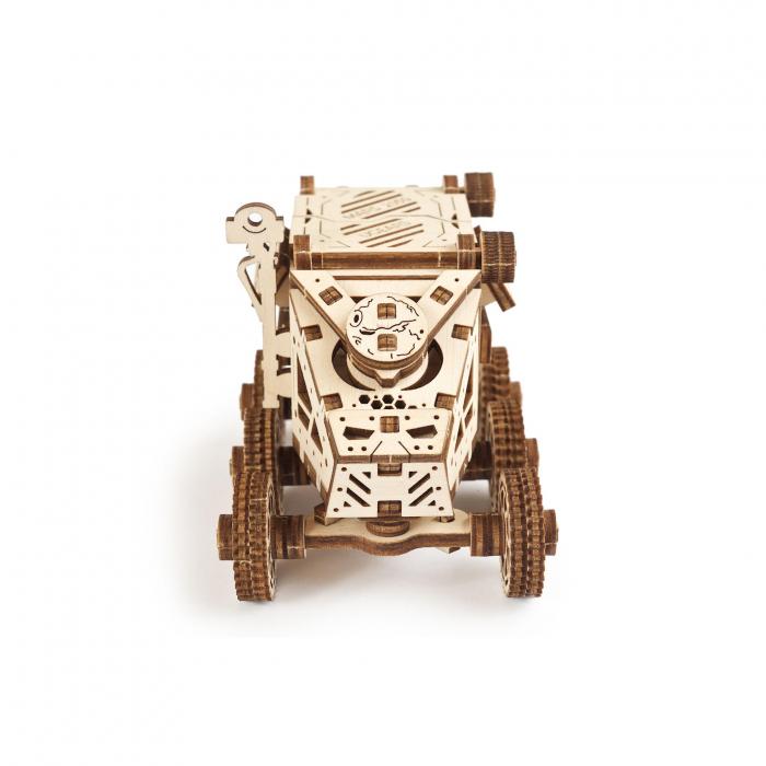 Puzzle 3D Mars Buggy din lemn Ugears 5